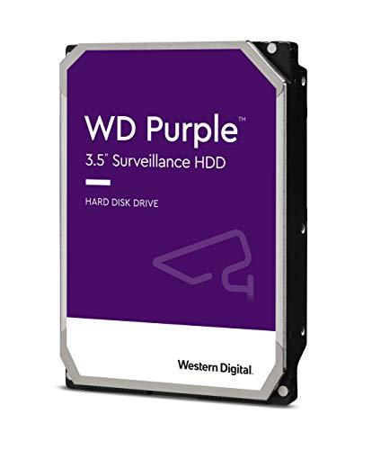 Western Digital 8TB WD Purple Surveillance Internal Hard Drive - 7200 RPM Class, SATA 6 Gb/s, , 256 MB Cache, 3.5' - WD82PURZ