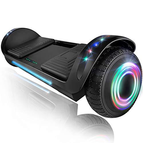 XPRIT 6.5' Hoverboard Self-Balance Two Wheel w/Built-in Wireless Speaker (Black)