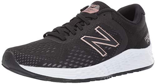 New Balance Women's Arishi V2 Fresh Foam Running Shoe, Black/Rose Gold, 7.5 B US