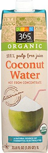 365 Everyday Value, Organic Coconut Water, 33.8 fl oz