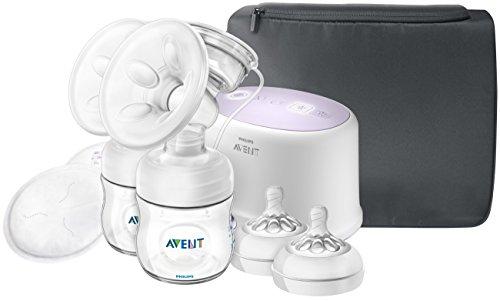 Philips Avent Double Electric Breast Pump + Bonus Power Cushion, SCF334/22