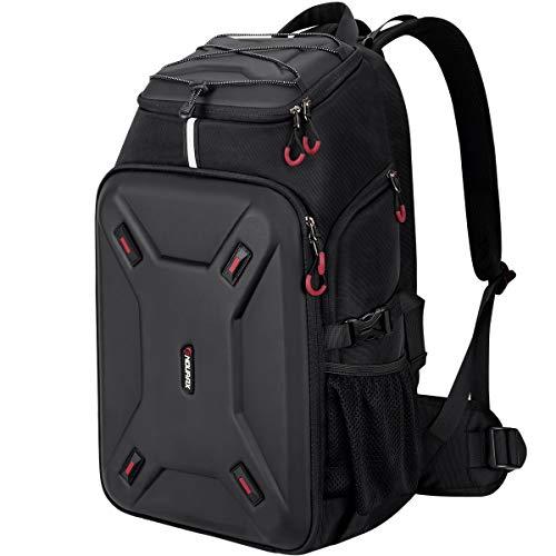 Endurax ShellX P01 Extra Large Camera Backpack Hardshell Protection for DSLR Camera Gear or DJI Mavic 2 Mavic Air Spark Mavic Pro or Mavic Pro Platinum, Specialized Waterproof Drone Backpack
