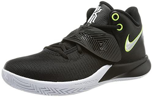 Nike Mens Kyrie Flytrap III Black/White/Volt (12)