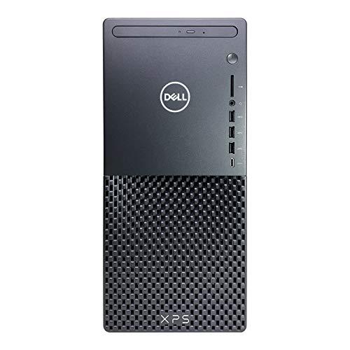 Dell XPS 8940 Desktop Computer - 11th Gen Intel Core i7-11700 up to 4.9GHz CPU, 64GB RAM, 2TB SSD + 4TB HDD, Intel UHD Graphics 750, Killer Wi-Fi 6, 500W PSU, DVD-RW, Wireless Mouse, Windows 10 Pro