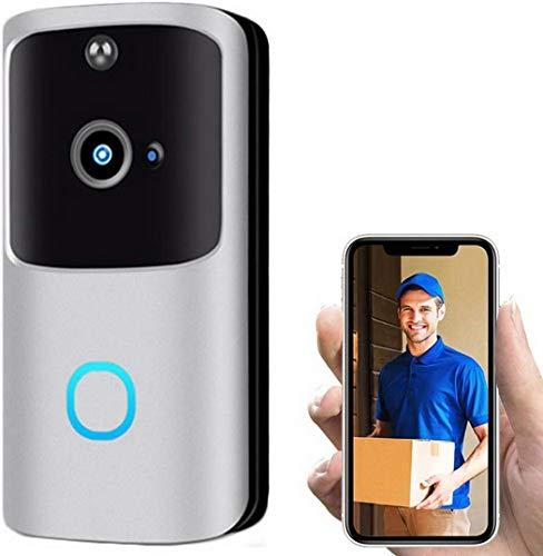 isopeen Smart HD Electronic Wireless WiFi Video Doorbells Secure Visual Intercom Door Bell Kits