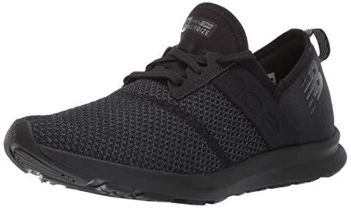 New Balance Women's FuelCore Nergize V1 Sneaker, Black/Magnet, 8 M US