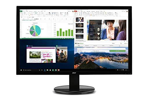Acer K202HQL Abi 19.5' HD Monitor (HDMI & VGA port), Black, 19.5 Inch