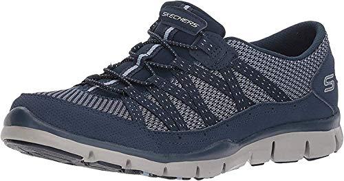 Skechers Women's Gratis-Strolling Sneaker, NVY, 9 M US