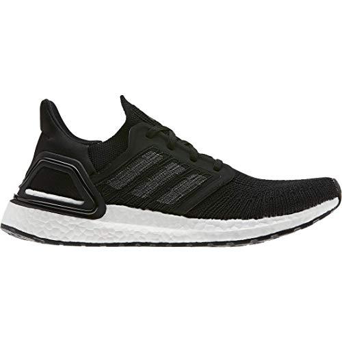 adidas Women's Ultraboost 20 Running Shoe, Black/Night Metallic/White, 9 M US