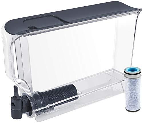 Brita Stream UltraMax Water Filter Dispenser, Dark Blue, Extra Large 25 Cup, 1 Count