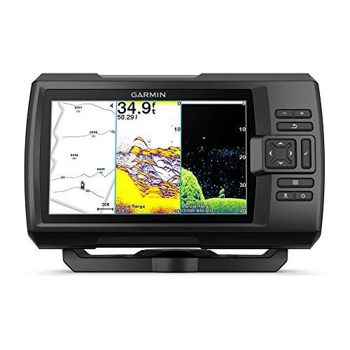 Garmin Striker Vivid 7cv, Easy-to-Use 7-inch Color Fishfinder and Sonar Transducer, Vivid Scanning Sonar Color Palettes (010-02552-00)