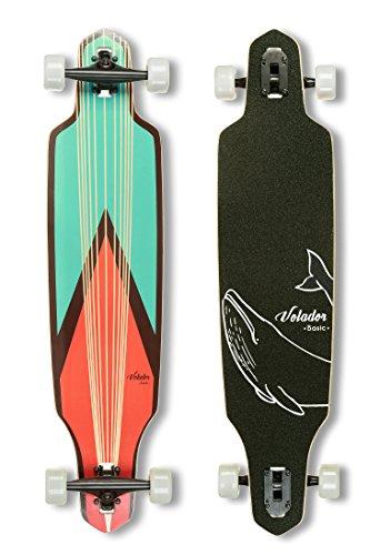 VOLADOR 40inch Maple Longboard - Basic Cruiser (Sword) …