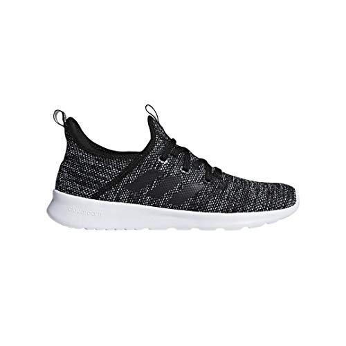 adidas Performance Women's Cloudfoam Pure Running Shoe, Black/Black/White, 7.5 M US
