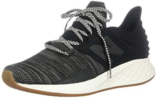 New Balance Women's Fresh Foam Roav V1 Sneaker, Black/Sea Salt, 10 M US