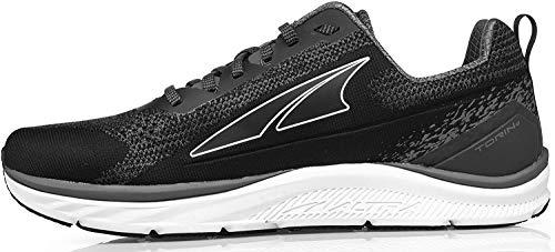 ALTRA Men's Torin 4 Plush Road Running Shoe, Black/Gray - 10 M US