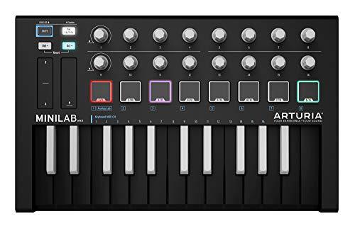 Arturia MiniLab MKII Inverted MIDI Controller Black