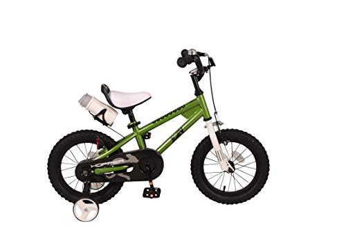 JOEY Hopper 14 inch Kid's Bicycle, Green, Children's Bike