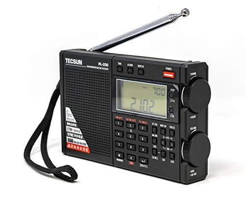 Tecsun Digital PL330 AM/FM/LW/SW Worldband Radio with Single Side Band Receiver