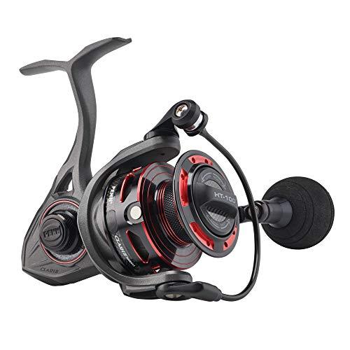 PENN Clash II Spinning Fishing Reel , Grey/Black, 4000