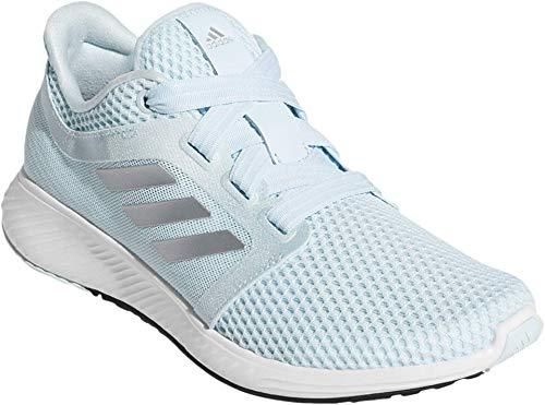adidas Women's Edge Lux 3 Running Shoe, Sky Tint/Silver Metallic/White, 11 M US