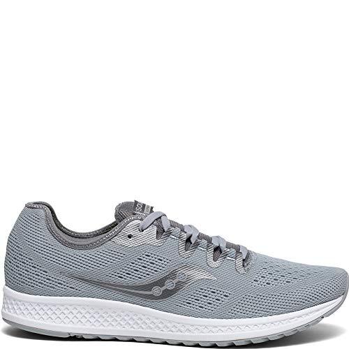 Saucony Men's Versafoam Flare Running Shoe, Grey, 10