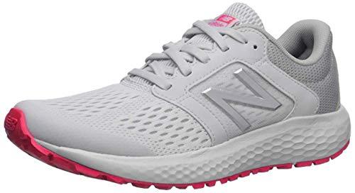 New Balance Women's 520 V5 Running Shoe, Summer Fog/Guava/Team Away Grey, 8 M US