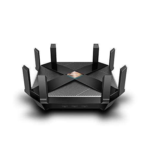 TP-Link AX6000 WiFi 6 Router, 8-Stream Smart WiFi Router (Archer AX6000) - Next-Gen 802.11ax Wireless Router, 2.5G WAN Port, 8 Gigabit LAN Ports, MU-MIMO, 1.8GHz Quad-Core CPU, USB 3.0