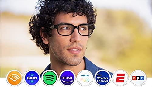 Echo Frames (2nd Gen) | Smart audio glasses with Alexa | Classic Black