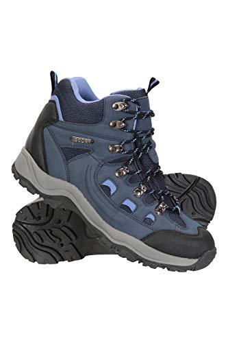 Mountain Warehouse Adventurer Womens Waterproof Hiking Boots Navy Womens Shoe Size 7 US