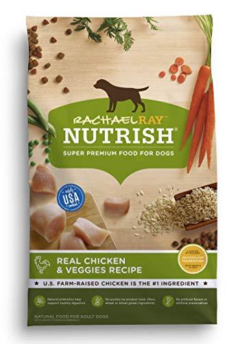 Rachael Ray Nutrish Premium Natural Dry Dog Food, Real Chicken & Veggies Recipe, 40 Pounds