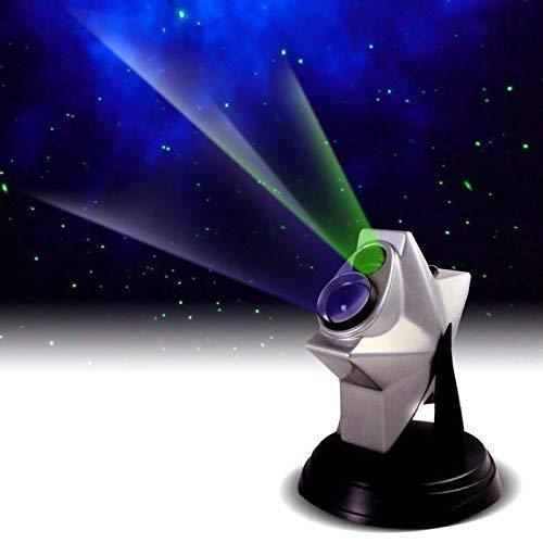 Upgraded 2021 model, Laser Stars Twilight Projector, More colors, Bluetoothspeaker, Romantic Relaxing Night Light Show, hologram Cosmos Planetarium Sky Constellation Galaxy Projection