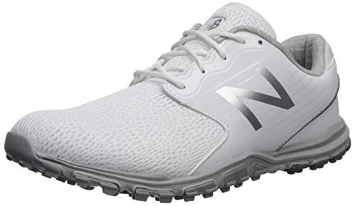 New Balance Women's Minimus SL Breathable Spikeless Comfort Golf Shoe, White, 7 M