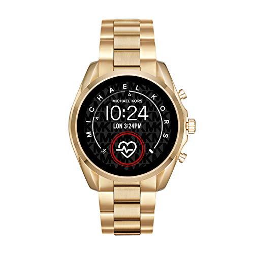 Michael Kors Access Bradshaw 2 Touchscreen Stainless Steel Smartwatch, Gold tone-MKT5085