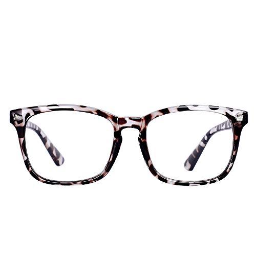 Maxjuli Blue Light Blocking Glasses,Computer Reading/Gaming/TV/Phones Glasses for Women Men(Leopard)