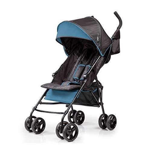 Summer Infant 3Dmini Convenience Stroller, Blue/Black