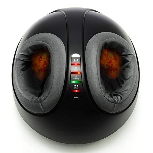 Mynt Shiatsu Foot Massager Machine with Adjustable Heat, Intensity, Mode for Plantar Fasciitis Foot Pain Relief Home Use Improve Sleep Blood Circulation