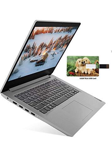 2021 Newest Lenovo IdeaPad 3 14' FHD Premium Business Laptop, Intel Core i5-1035G1 (Beat i7-8550U), 12GB RAM 512GB SSD, Bluetooth 5, Webcam, WiFi, HDMI, Windows 10 Pro w/32GB TELA USB Card