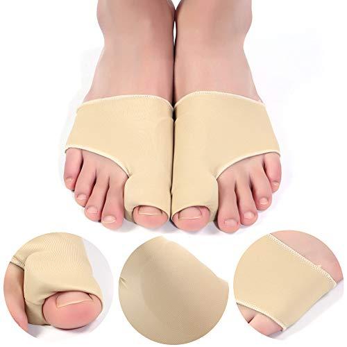 Odowalker 2PCS Bunion Corrector , Bunion Splints Bunion Pads Hallux Valgus Treatment Bunion Socks Protector Big Toe Straightener Pain Relief for Women & Men