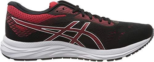 ASICS Men's Gel-Excite 6 Running Shoes, 10.5M, Black/Speed RED