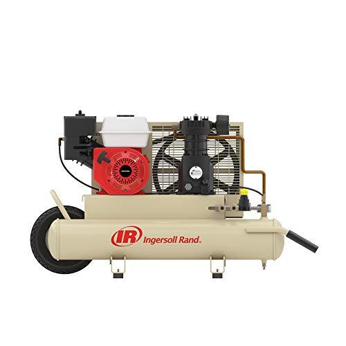 Ingersoll-Rand SS3J5.5GH-WB 5.5 Horsepower 8 Gallon Oiled Gas Twin Pontoon Compressor