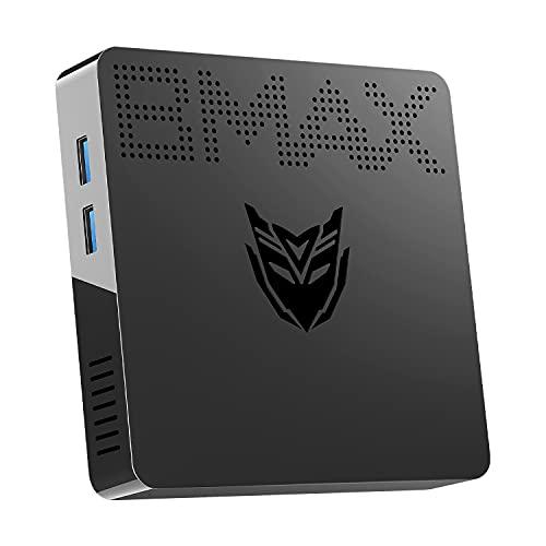 Mini PC Intel Celeron 3060(up to 2.48GHz) Windows 10 Mini Computer, 4GB DDR3/64GB eMMC, HDMI/VGA Port, Support M.2_2280 SATA SSD, 4K HD, Gigabit Ethernet, 2.4G/5.8G Dual WiFi, BT4.2