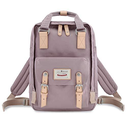 Himawari Backpack/Waterproof Backpack 14.9' College Vintage Travel Bag for Women,13inch Laptop for Student (HM-41#)