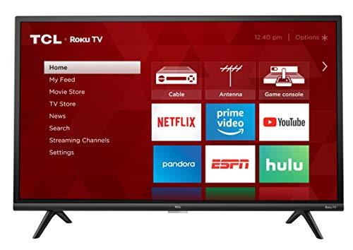 TCL 32' 1080p Smart LED Roku TV (Renewed) - 32S327-B