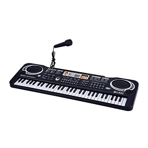 ASTOTSELL Keyboard Piano for Kids, 61 Keys Kids Piano Keyboard Toy Electronic Organ Musical Teaching Keyboard Gift for Your Kids Children, Son, Daughter, Grandson, Granddaughter