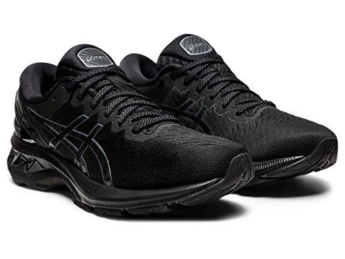 ASICS Women's Gel-Kayano 27 Running Shoes, 9, Black/Black