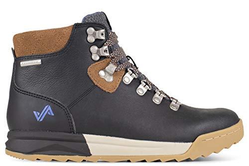 Forsake Patch - Women's Waterproof Premium Leather Hiking Boot (8.5, Black/Tan)