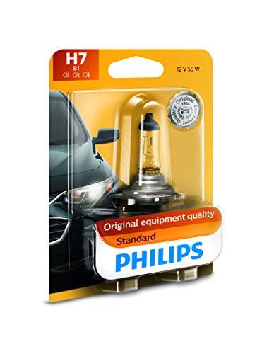Philips 12972B1 H7 Standard Halogen Replacement Headlight Bulb, 1 Pack