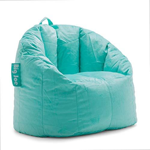 Big Joe Milano Beanbag Chair Plush, Gray