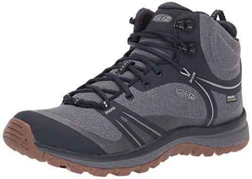 KEEN Women's Terradora Mid Waterproof Hiking Boot, Blue Nights/Blue Mirage, 9 M US