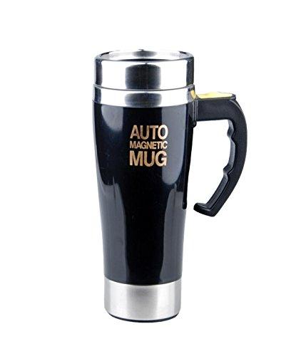 Mengshen Self Stirring Coffee Cup Stainless Steel Mug
